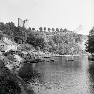 Boating, River Nidd, Knaresborough and Castle